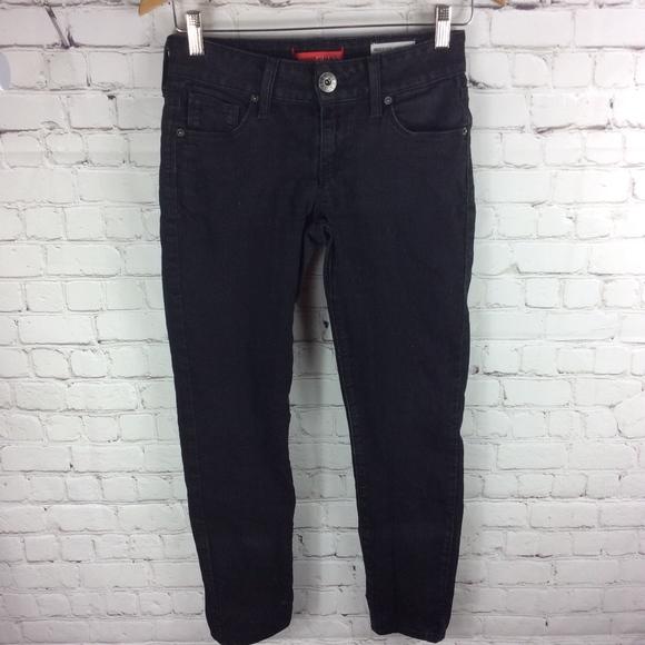 Guess Emma Fit Mid-Rise Ankle Skinny Jeans Size 27